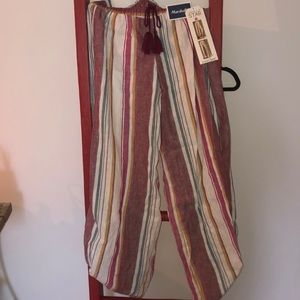Vanilla Star Stripped Boho Pants